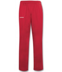 Joma Champion II Polyester Tricot Long Pant Red / White