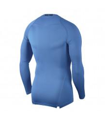 Nike Pro Crew Compression LS Top - University Blue / Black