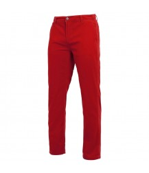 Asquith & Fox Men's Chino - Cherry Red