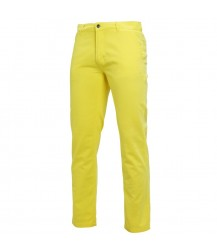 Asquith & Fox Men's Chino - Lemon Zest