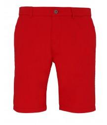 Asquith & Fox Chino Shorts - Cherry Red
