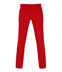 Asquith & Fox Women's Chino - Cherry Red