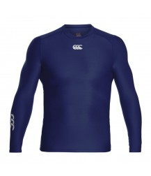Canterbury ThermoReg Long Sleeve Base layer - Navy