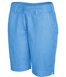 Women's Bermuda Shorts - Washed Blue