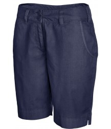 Women's Bermuda Shorts - Washed Navy