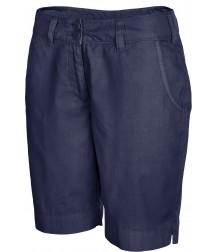 Women's Bermuda Shorts - Washed Navy