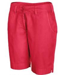 Women's Bermuda Shorts - Washed Red