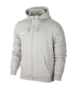 Nike Youth Team Club Full Zip Hoody Grey