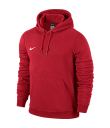 Nike Youths Team Club Hoody University Red