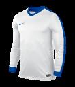 Nike Striker IV LS Tee - White / White / Royal Blue