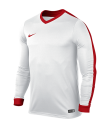 Nike Striker IV LS Tee - White / White / University Red