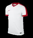 Nike Striker IV SS Tee - White / White / University Red