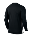 Nike LS Striped Division II Tee - Black / White