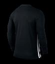 Nike LS Striped Division II Tee - Black / White