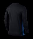 Nike LS Striped Division II Tee - Black / Royal Blue