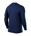 Nike LS Striped Division II Tee - Midnight Navy / Royal Blue