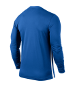Kids Nike LS Striped Division II Tee - Royal Blue / White