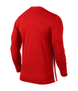 Nike LS Striped Division II Tee - University Red / White