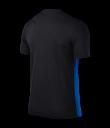Nike SS Striped Division II Tee - Black / Royal Blue