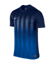 Nike SS Striped Division II Tee - Midnight Navy / Royal Blue