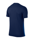 Kids Nike SS Striped Division II Tee - Midnight Navy / Royal Blue
