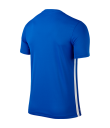 Nike SS Striped Division II Tee - Royal Blue / White